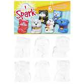 Spark Cats & Dogs Plaster Figurines